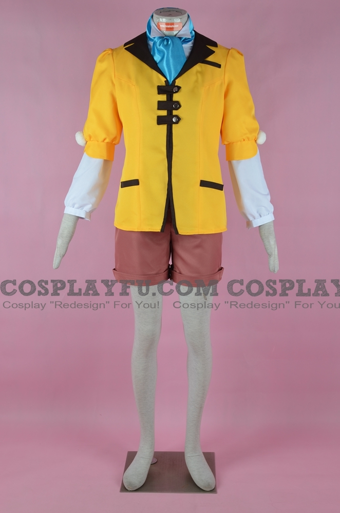Leia Cosplay Costume from Tales of Xillia 2