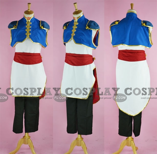 Li Xingke Cosplay Costume from Code Geass