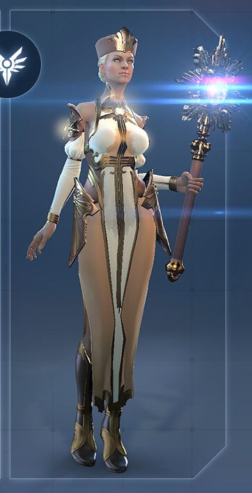 Lightbinder Female Cosplay Costume from Skyforge