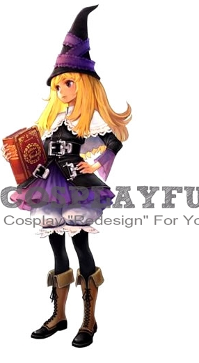 Lillet Blan Cosplay Costume from Grim Grimoire