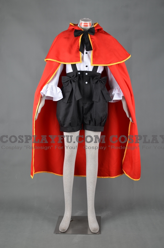Pandora Hearts Lily Baskerville Costume