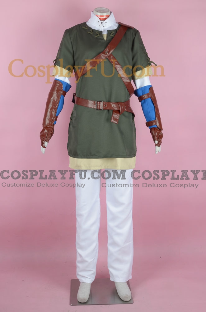 Link Cosplay Costume (Grey) from The Legend of Zelda