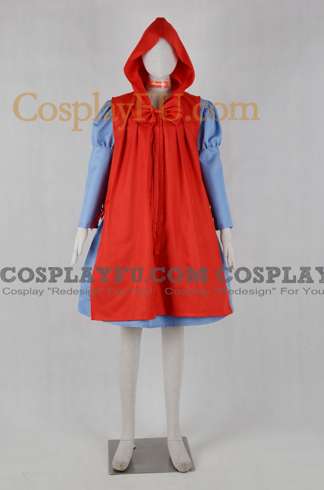 Custom Little Red Riding Hood Cosplay Costume From Into The Woods
