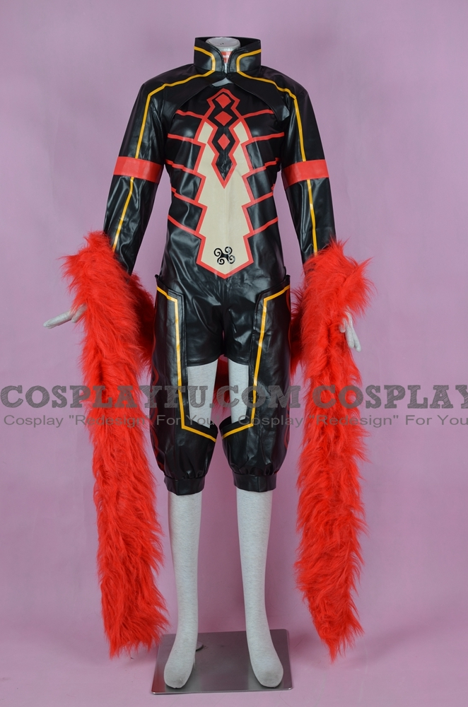 Loki Cosplay Costume (New version) from Kamigami no Asobi