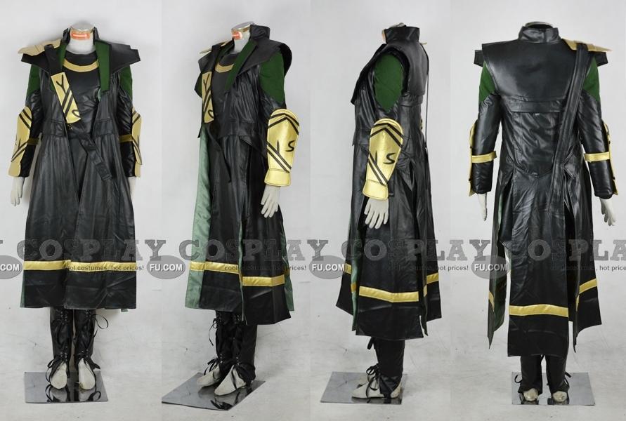 Captain America Loki Costume (Troy Baker)