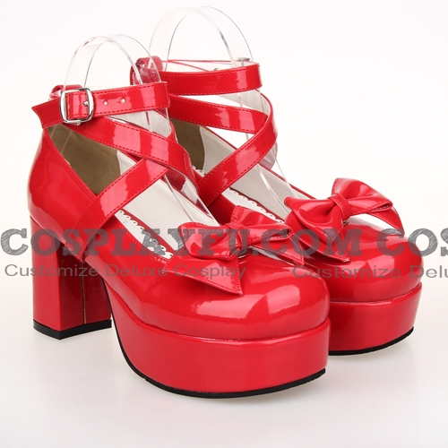 Lolita Schuhe (Red 9812)