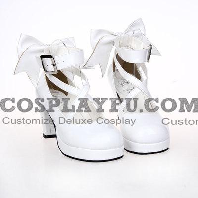 Lolita Shoes (White 8280)