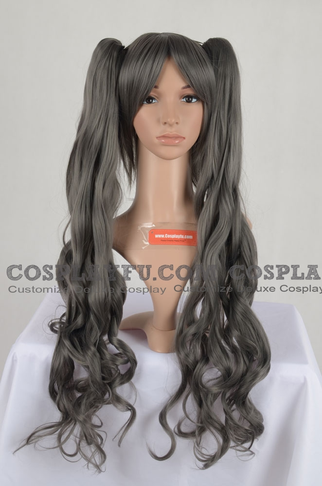 Grey Wig (Long,Wavy,Ciel)