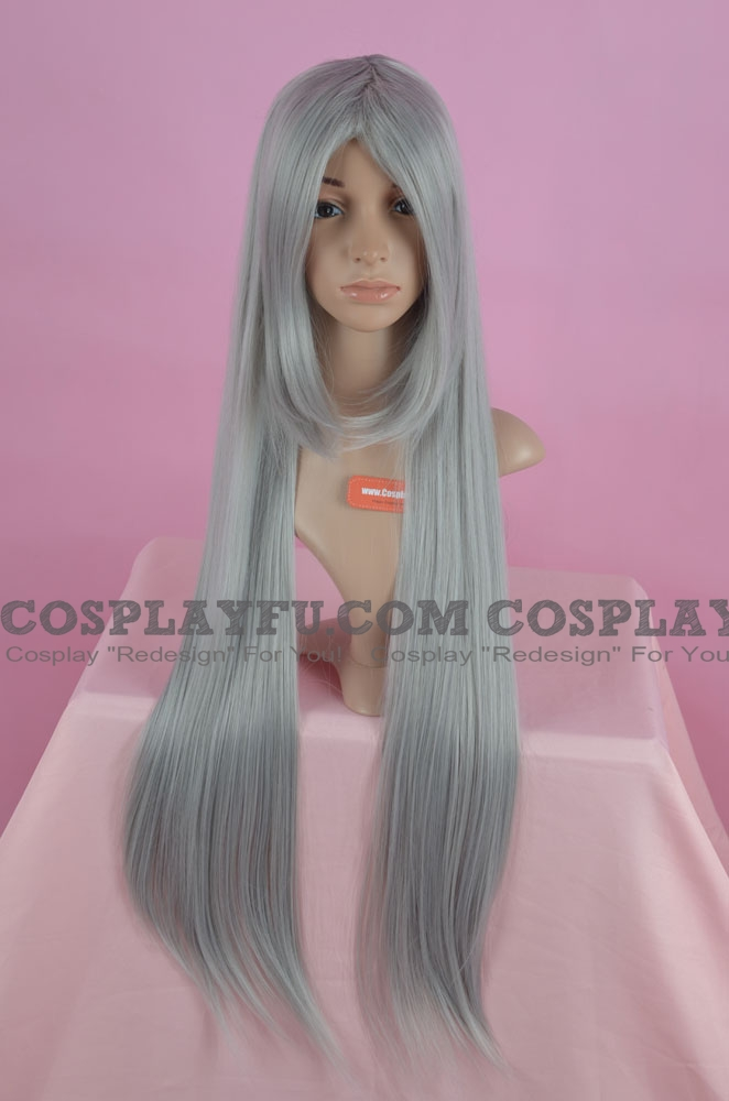Long Wig (Grey, Straight, GH530)