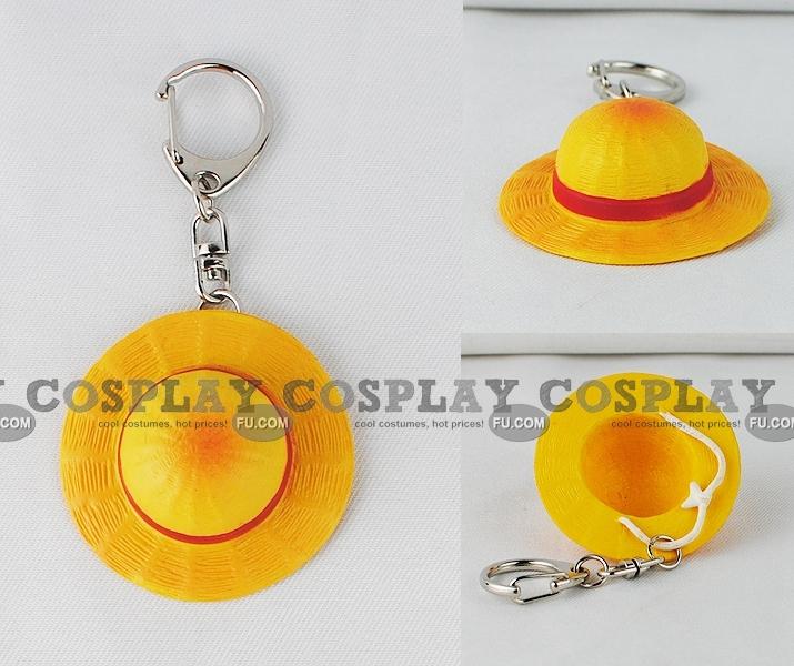 One Piece Monkey D. Rufy Cosplay (Key Ring)