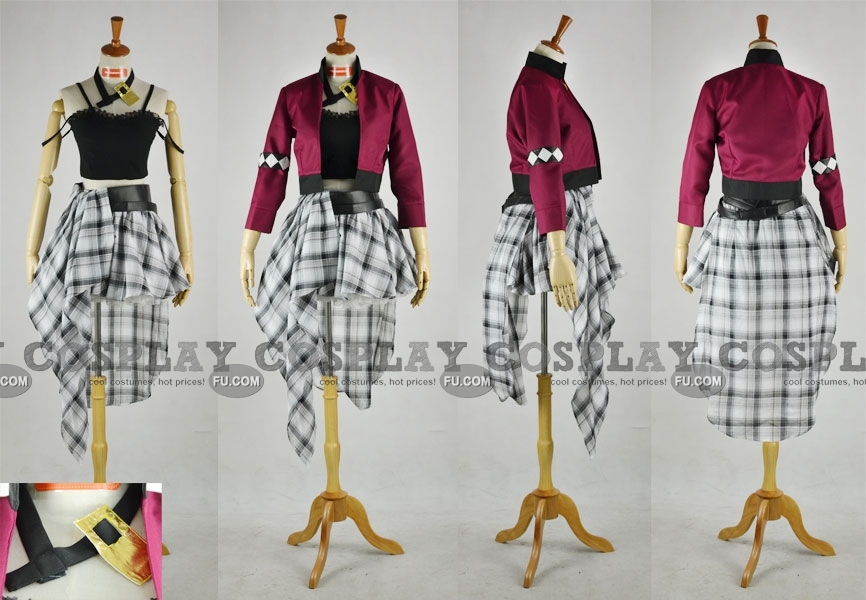 Luka Cosplay Costume (Type H) from Vocaloid