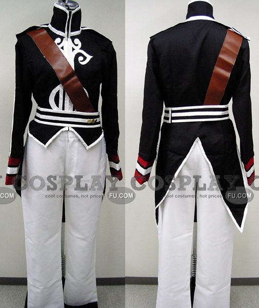 Luke Cosplay Costume (Black) from Tales of the Abyss