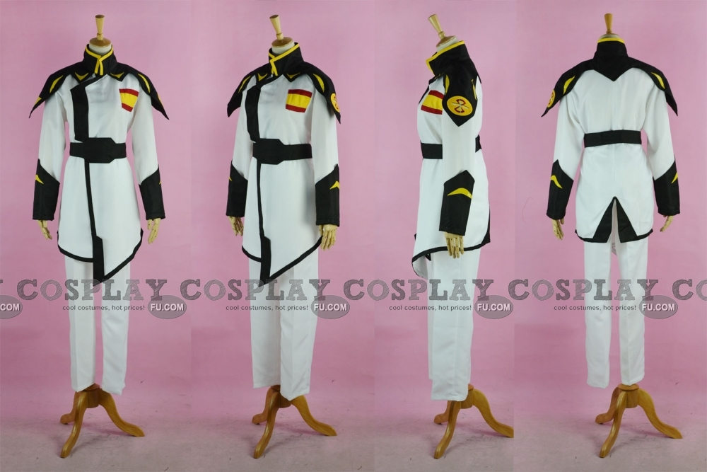 Rau Le Cosplay Costume (Lyzak Uniform) from Gundam Seed