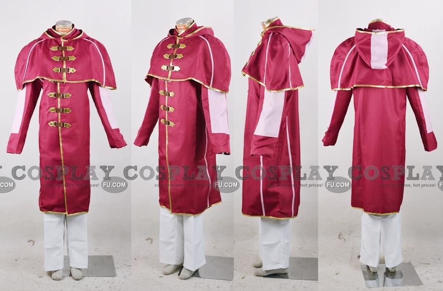 Final Fantasy Type-0 Machina Kunagiri Costume (Class Zero Uniform)