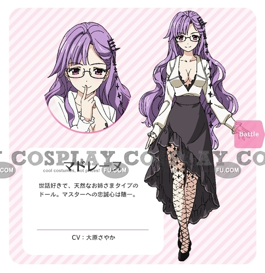 Madeleine Cosplay Costume from Fantasista Doll