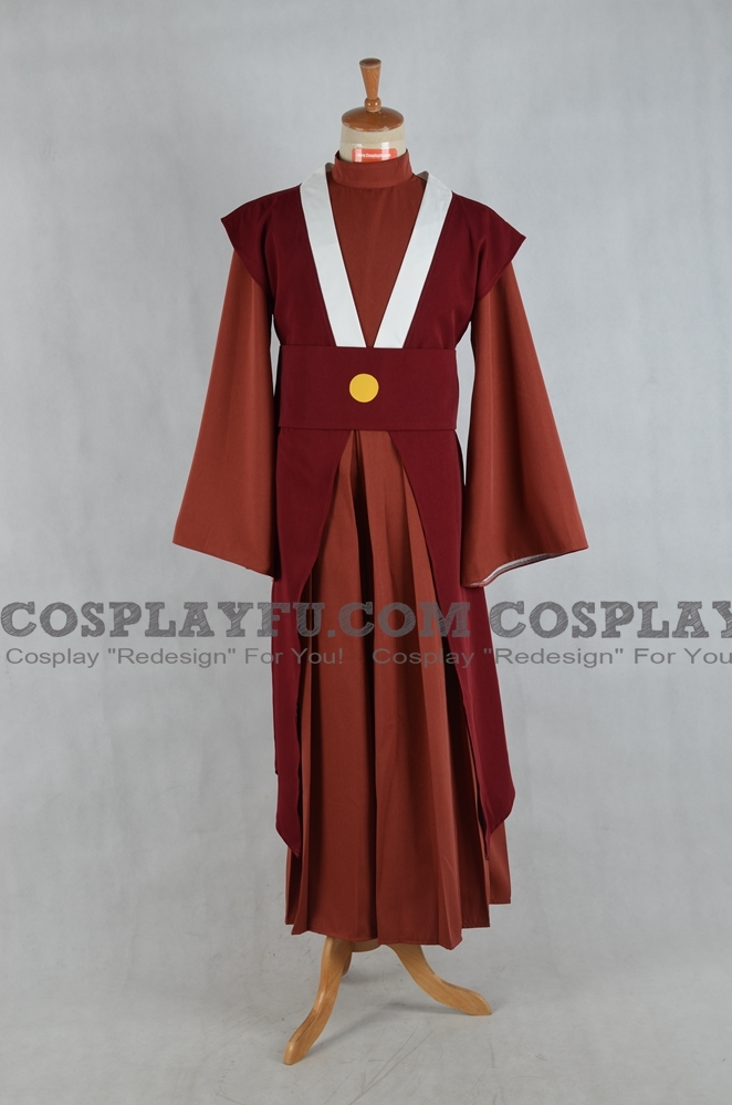 Mai Cosplay Costume from Avatar The Last Airbender