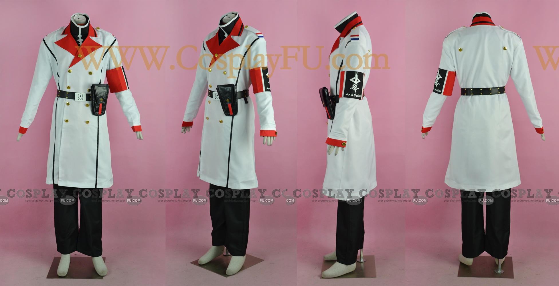 Makoto Cosplay Costume from Guilty Crown