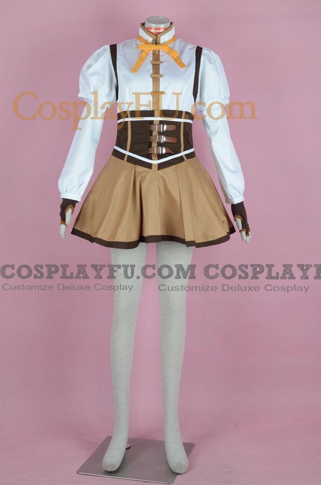 Mami Cosplay Costume (162-C02) from Puella Magi Madoka Magica