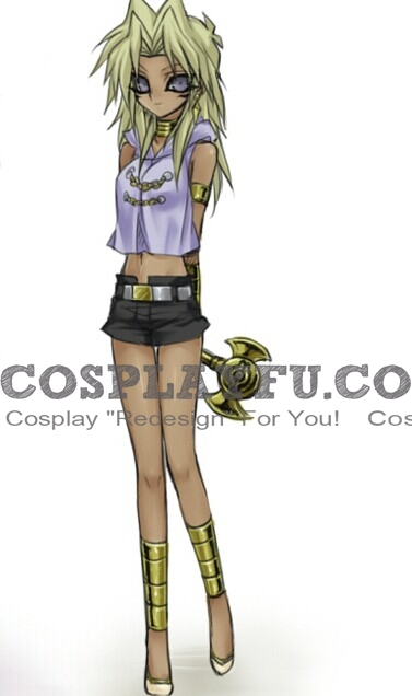 Marik Cosplay Costume (Female) from Yu-Gi-Oh!