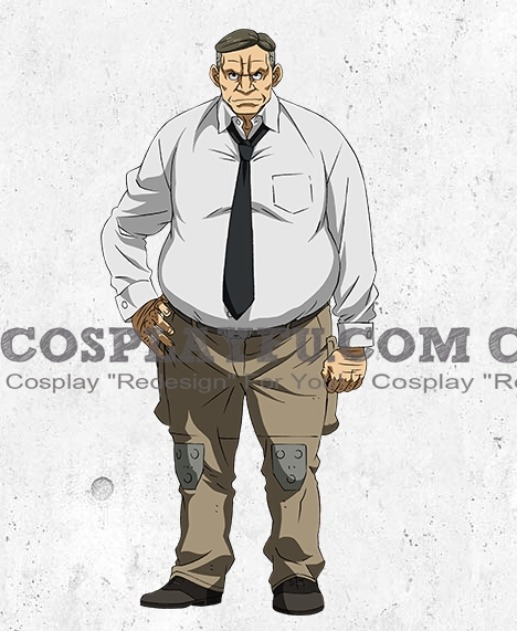 Maruba Cosplay Costume from Mobile Suit Gundam Iron Blooded Orphans