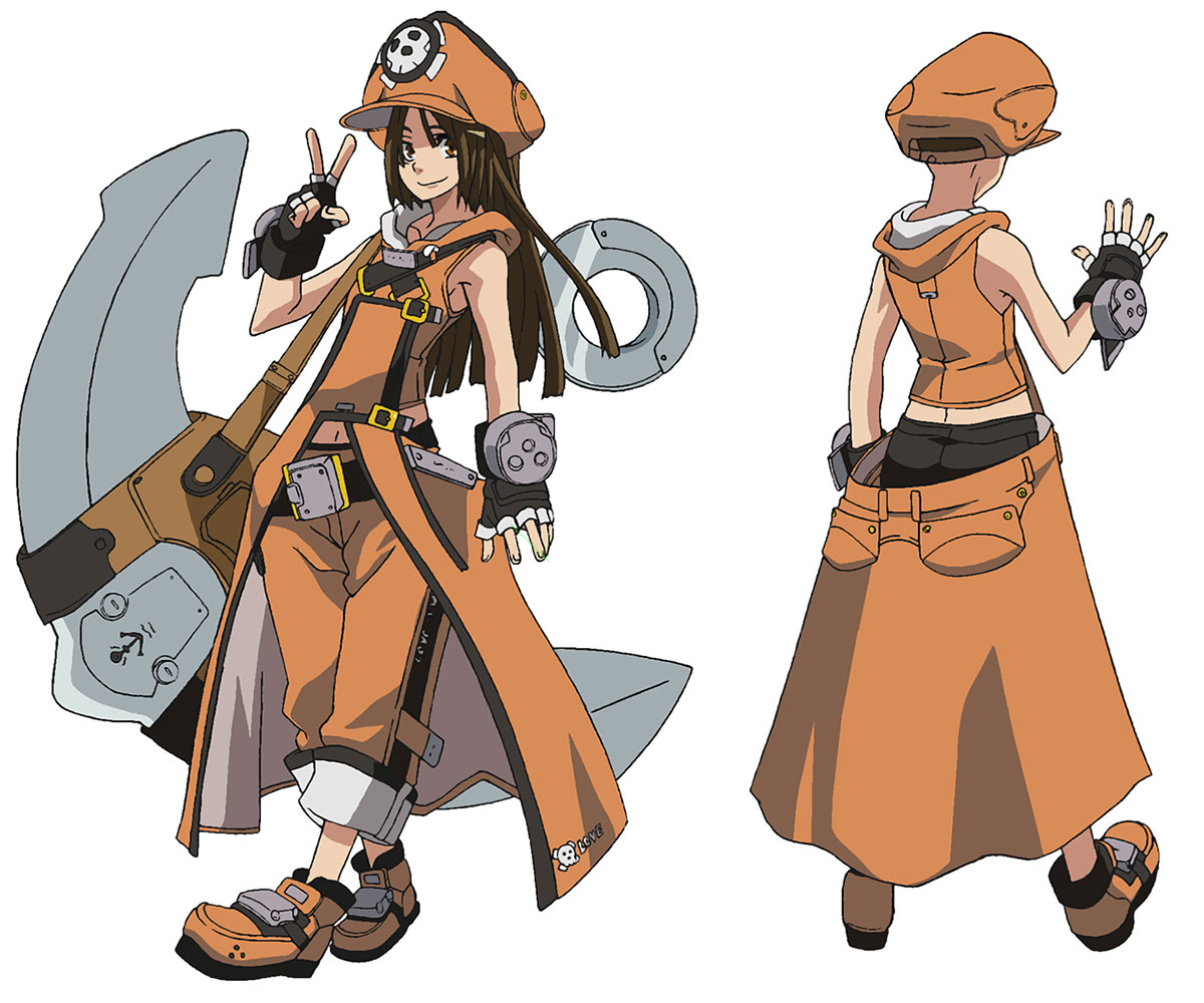 May (Guilty Gear) Cosplay Costume from Guilty Gear