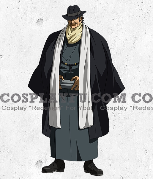 McMurdo Cosplay Costume from Mobile Suit Gundam Iron Blooded Orphans