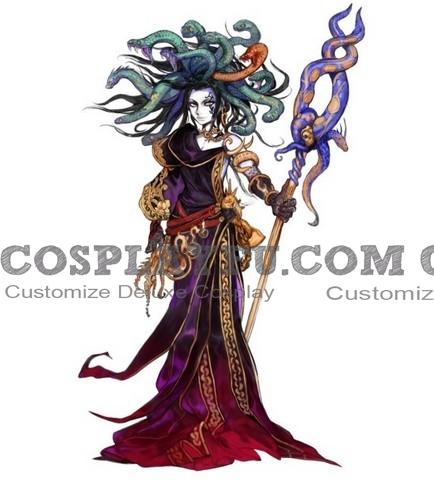 Medusa Cosplay Costume from Kid Icarus