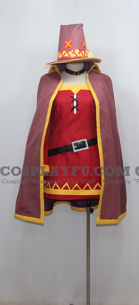 Megumin Cosplay Costume (1777) from KonoSuba: God's Blessing on This Wonderful World!