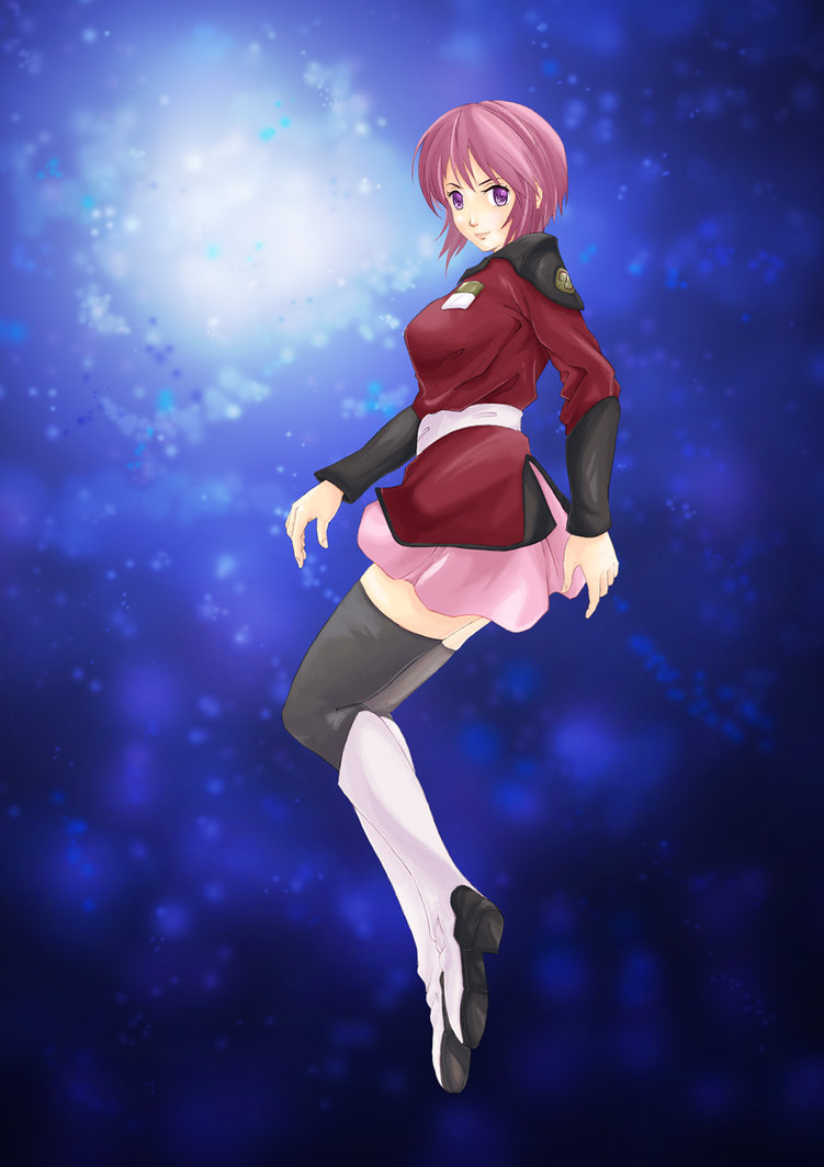 Custom Meyrin Cosplay Costume (Red) from Gundam Seed ...