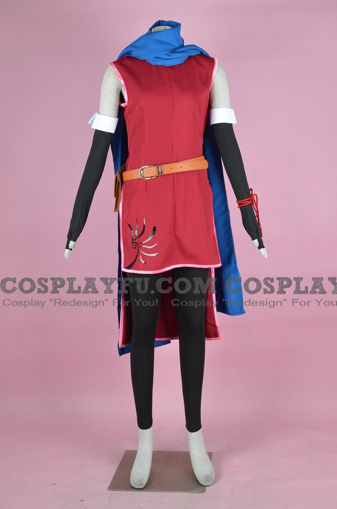 Micaiah Cosplay Costume (Red) from Fire Emblem Radiant Dawn