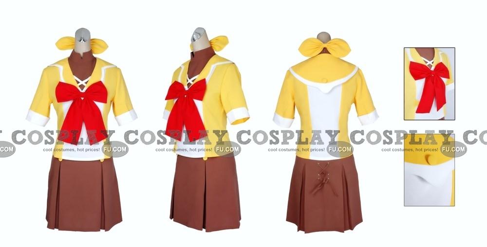 Macross Frontier Ранка Ли Костюм (Mihoshi Academy Girl Uniform)