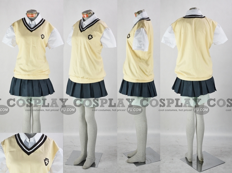 Mikoto Cosplay Costume (2nd) from Toaru Kagaku no Railgun