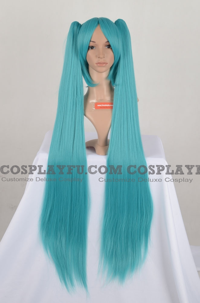 Vocaloid Miku Hatsune Perruque (Blue Green)