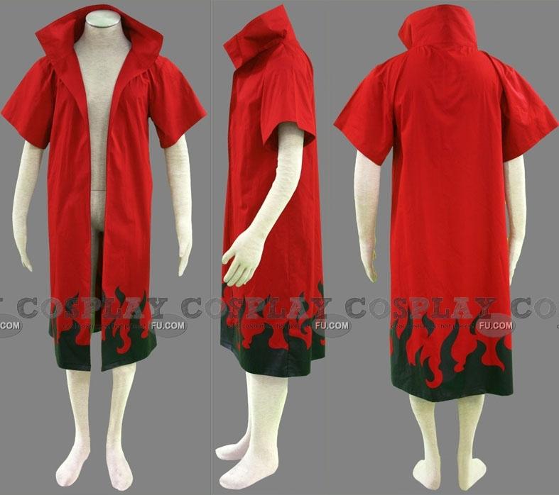 Naruto Uzumaki Cosplay Costume (Cloak 1-584) from Naruto Shippuuden