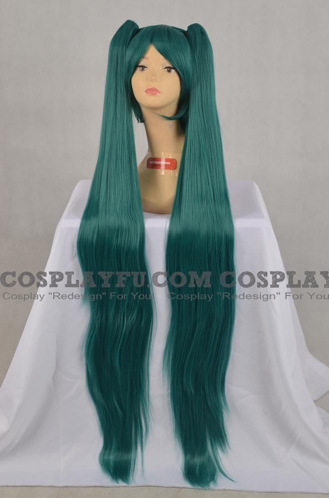 Miku Wig (Green) from Vocaloid
