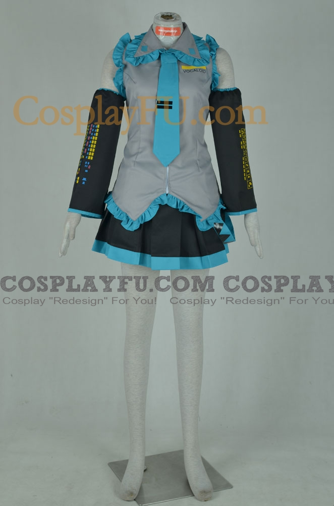 Miku Cosplay Costume from Vocaloid