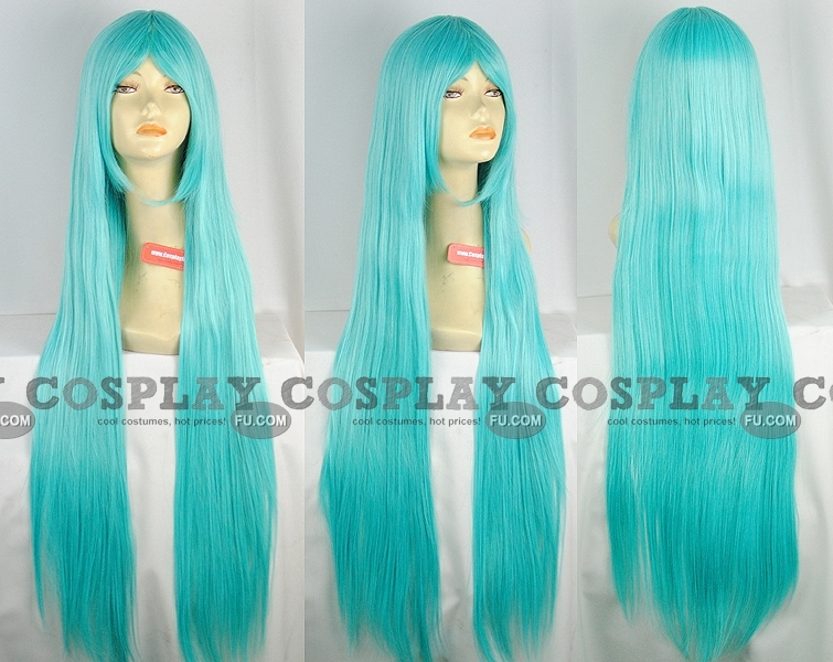 Miku Wig (Straight, Lake Blue) from Project DIVA