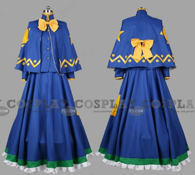 Touhou Project Mima Costume (Highly Responsive to Prayers)