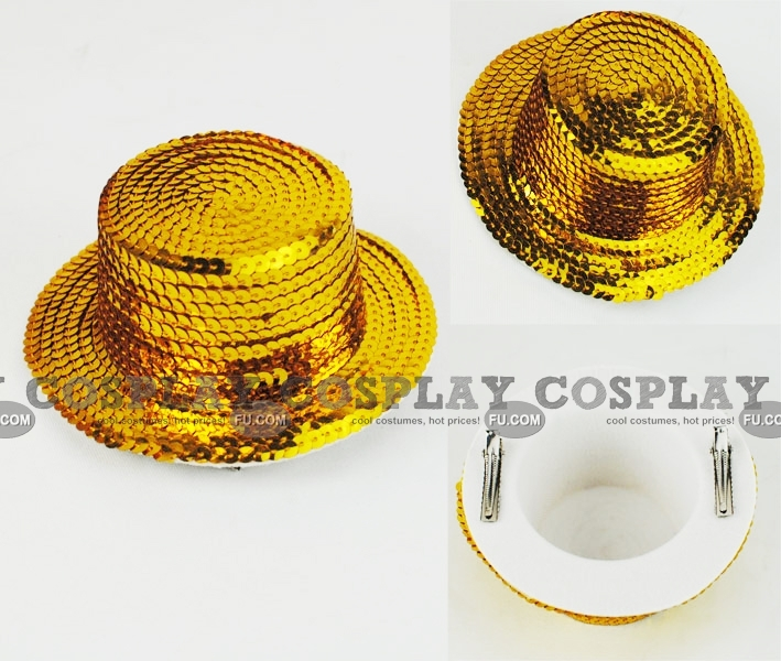 Mini Sombrero Cosplay (Gold 02)