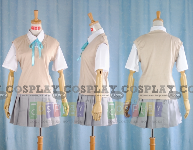 Mio Cosplay Costume (Summer School Uniform) from K ON