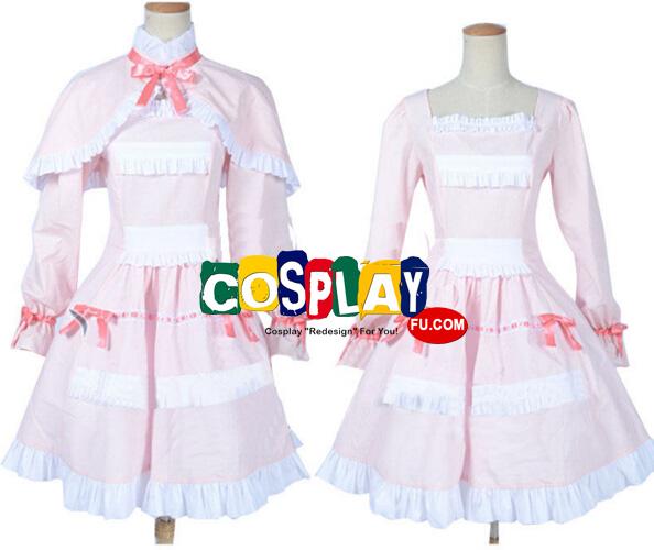Another Fujioka Misaki Disfraz (Pink Dress)