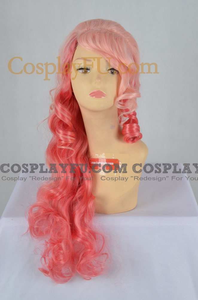 Mix Color Wig (Long Curly Ringo)