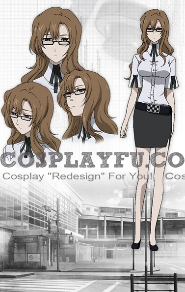 Moeka Kiryu Cosplay Costume from Steins Gate