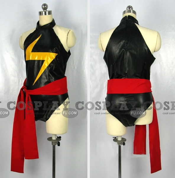 Ms Marvel Cosplay Costume from The Avengers
