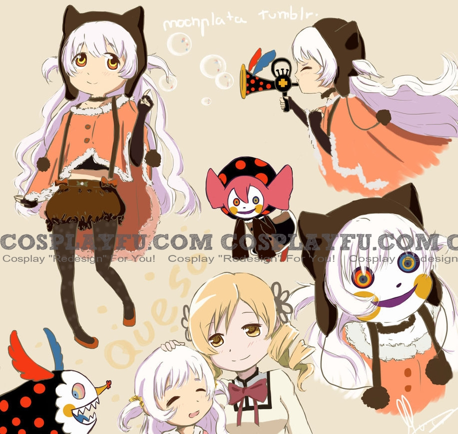Nagisa Cosplay Costume (Magica 2nd) from Puella Magi Madoka Magica