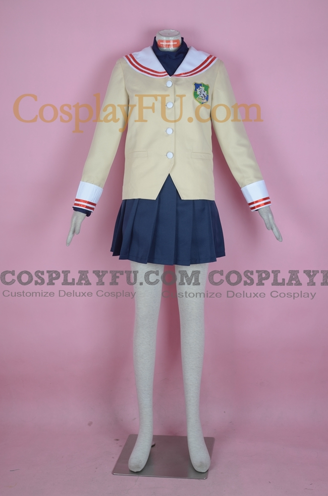 Nagisa Cosplay Costume from Clannad