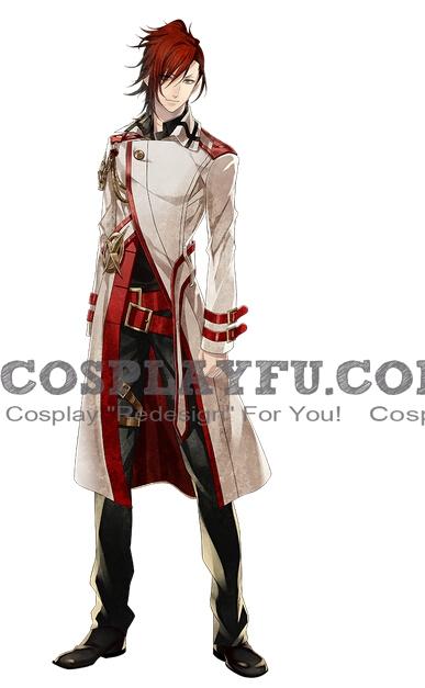 Nagisa Shinonome Cosplay Costume from Vamwolf Cross