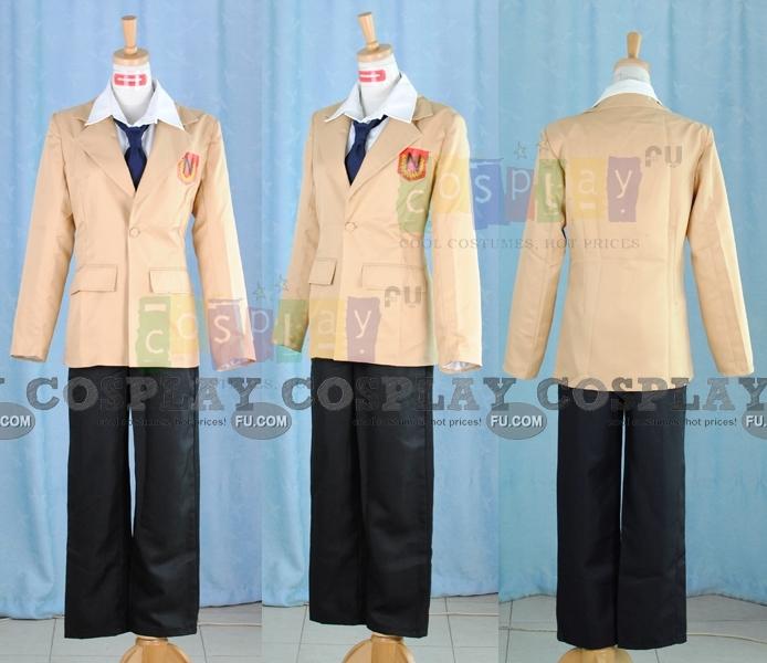 Tutor Hitman Reborn! Tsuna Sawada Costume (School Uniform)