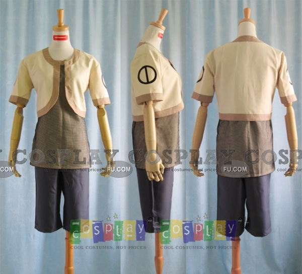 Shikamaru Cosplay Costume from Naruto