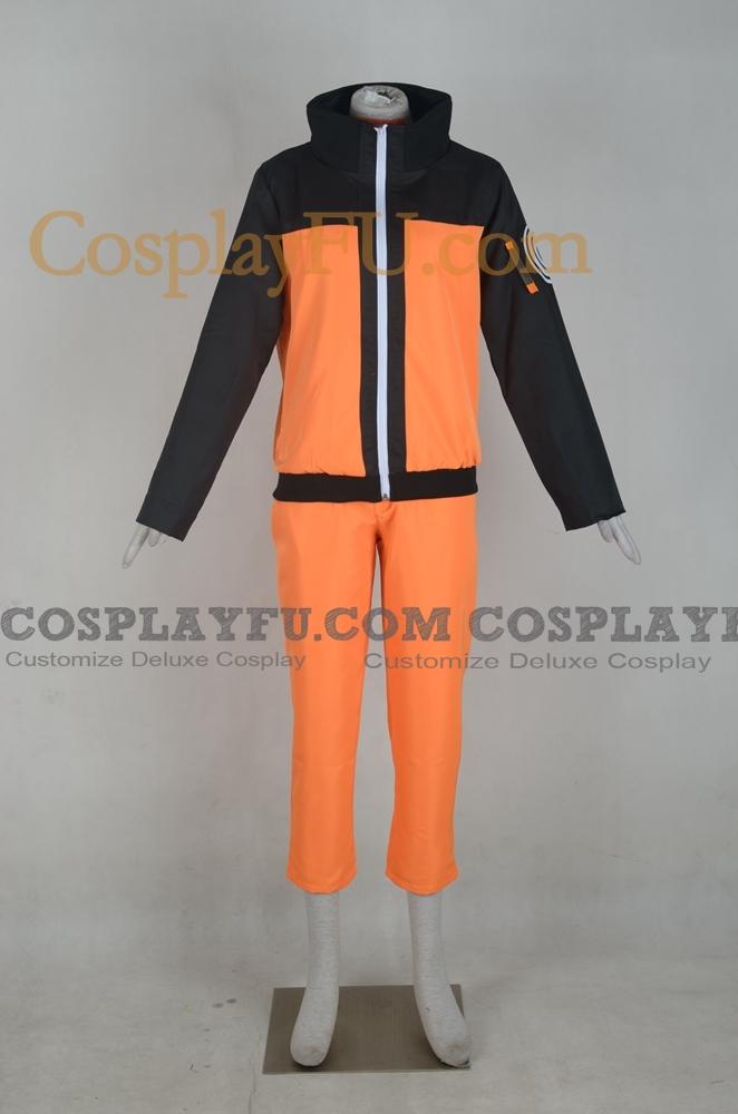 Naruto Uzumaki Cosplay Costume (1-404) from Naruto Shippuuden